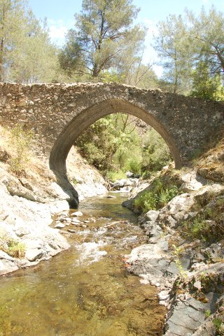Venetian bridge in Cyprus